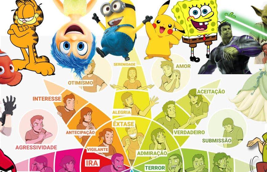 Psicologia das cores!